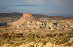Landscape in  North New Mexico Royalty Free Stock Photos
