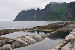 Landscape of north Norway Royalty Free Stock Photography
