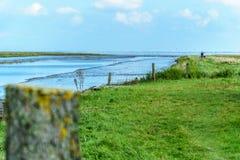 Landscape at the North Sea Stock Photo