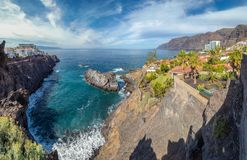 Landscape with North Tenerife coast. Canary island, Spain stock images
