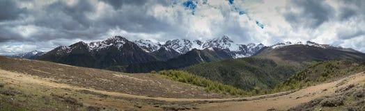 Landscape of north Yunnan, China royalty free stock photos