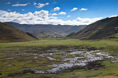 Landscape of north Yunnan, China Stock Images