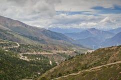 Landscape of north Yunnan, China Stock Photo