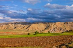 Landscape in northeastern Turkey Royalty Free Stock Images