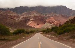 Landscape of Northem Argentina Stock Photo