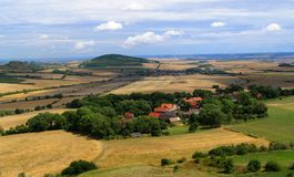Landscape of Northern Bohemia Stock Photos