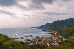 Landscape of northern coast in taiwan Royalty Free Stock Image