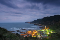 Landscape of northern coast in taiwan Royalty Free Stock Photos