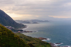 Landscape of northern coast in taiwan Stock Photography