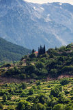 Landscape of Northern Greece Stock Images