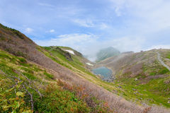 Landscape of Northern Japan Alps Stock Photos