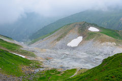 Landscape of Northern Japan Alps Royalty Free Stock Photo