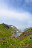 Landscape of Northern Japan Alps Royalty Free Stock Image
