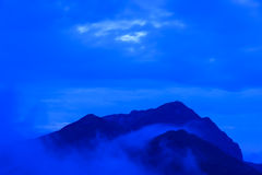 Landscape of Northern Japan Alps Royalty Free Stock Photography
