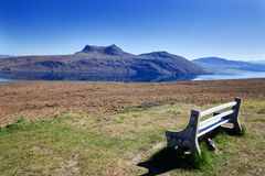 Landscape of the northern Scotland Royalty Free Stock Images