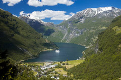 Landscape in Norway Stock Photography