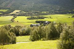 Landscape in Norway Royalty Free Stock Photo