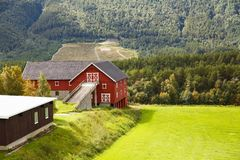 Landscape in Norway Royalty Free Stock Image