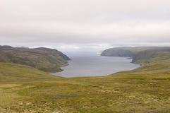Landscape of Norwegian fjord Royalty Free Stock Photo
