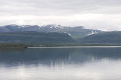 Landscape of Norwegian fjord Stock Photography