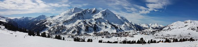 Landscape Obertauern Stock Images