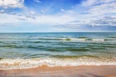 Landscape ocean sky horizental line Royalty Free Stock Photography