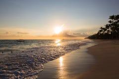 Landscape ocean sunrise Stock Photo