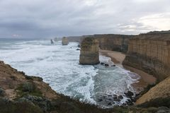 Free Landscape Of 12 Apostles In Great Ocean Road Royalty Free Stock Image - 107322866