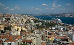 Landscape Of Istanbul, Turkey Royalty Free Stock Image