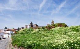 Landscape Of Mourao Castle, Portugal Stock Image