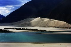 Free Landscape Of The Yarlung Tsangpo Grand Canyon Royalty Free Stock Photos - 95547098