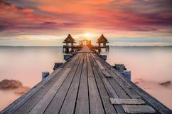 Free Landscape Of Wooded Bridge Stock Photo - 42964580