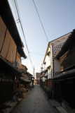 Landscape of old Japanese town, Tomonoura stock photo