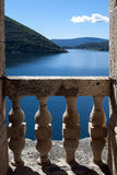 Landscape of old town Perast in Kotor bay, Montenegro Royalty Free Stock Photos