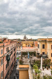 Landscape of old town in Rome Stock Photo
