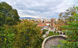 Landscape of the old town Varousi Trikala Greece Royalty Free Stock Photo
