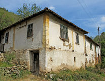 Landscape of old, traditional, folk village architecture, Serbia Royalty Free Stock Images