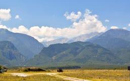 Olympus mountain range. royalty free stock image
