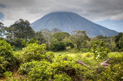 Landscape in Ometepe island with Concepcion volcano Royalty Free Stock Photography