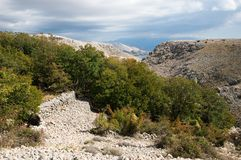 Landscape On The Island Of Krk Royalty Free Stock Photography