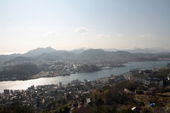 Landscape of Onomichi Royalty Free Stock Photos