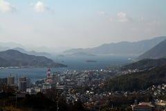 Landscape of Onomichi Stock Photo