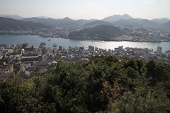 Landscape of Onomichi Royalty Free Stock Photo