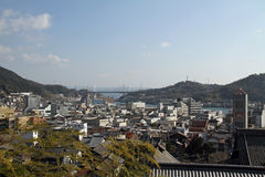 Landscape of Onomichi Royalty Free Stock Image