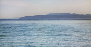 Landscape in Opatija. Adriatic sea. Croatia Royalty Free Stock Photos