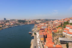 Landscape of Oporto Stock Photography