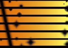 Landscape Orange Graphic Strips Stock Photos
