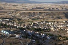 Landscape Orce (Granada, Spain) Stock Photography