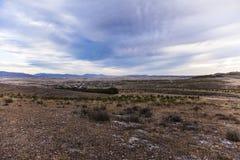 Landscape Orce (Granada, Spain) Royalty Free Stock Image