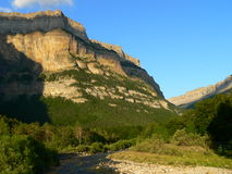 Landscape, Ordesa ( Spain ). Landscape of the Ordesa National Park in Huesca Stock Image